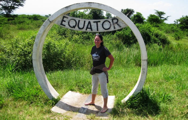 Giant cockroaches and the Equator