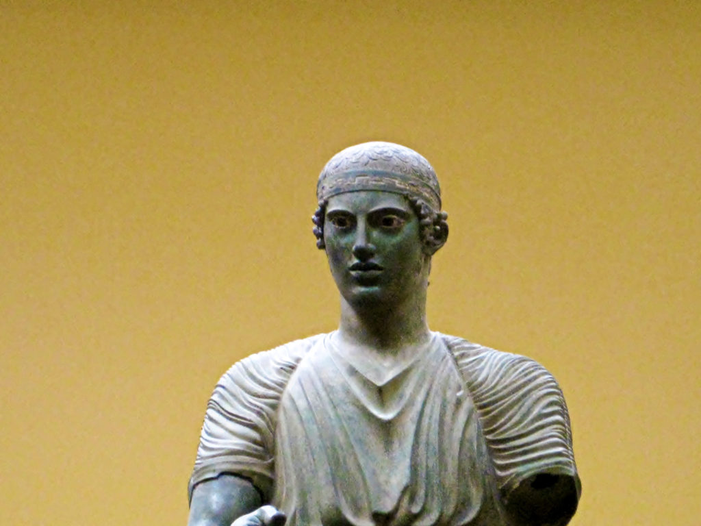 Bronze Charioteer Delphi Greece