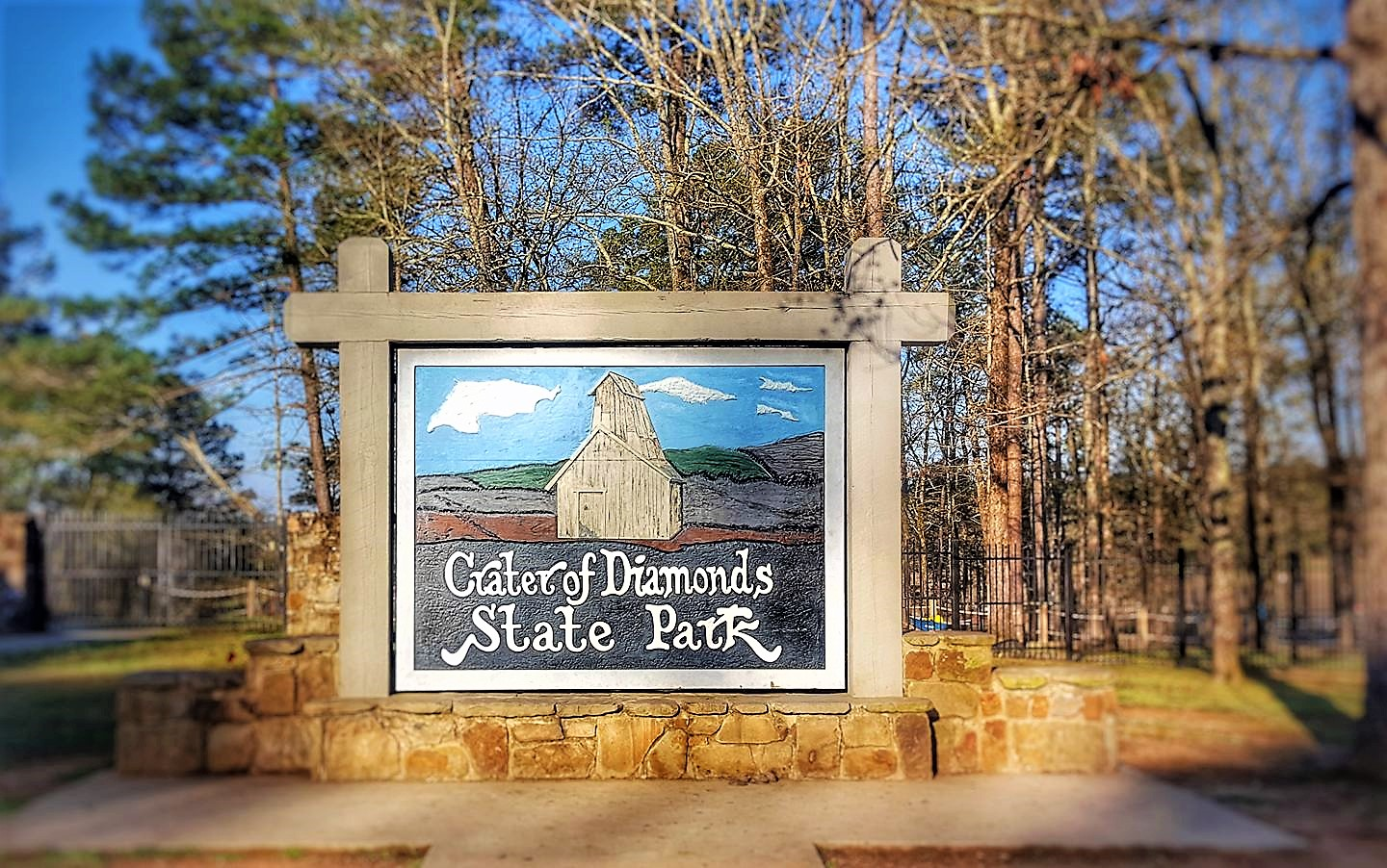 Bucket List #376- search for gems at Crater of Diamonds State Park in Murfreesboro, Arkansas