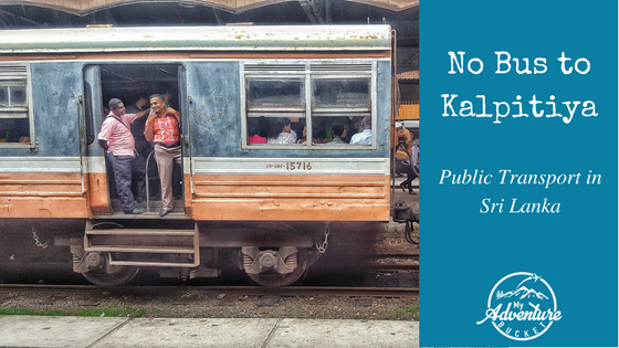 No Bus to Kalpitiya: Public Transport in Sri Lanka