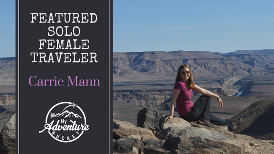 Solo Female Traveler Interview: Carrie Mann