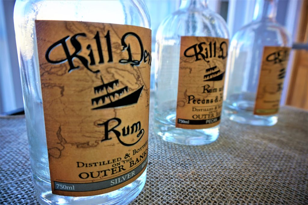Kill Devil Rum Outer Banks Distilling Things to do in the Outer Banks in the winter MyAdventureBucket.com