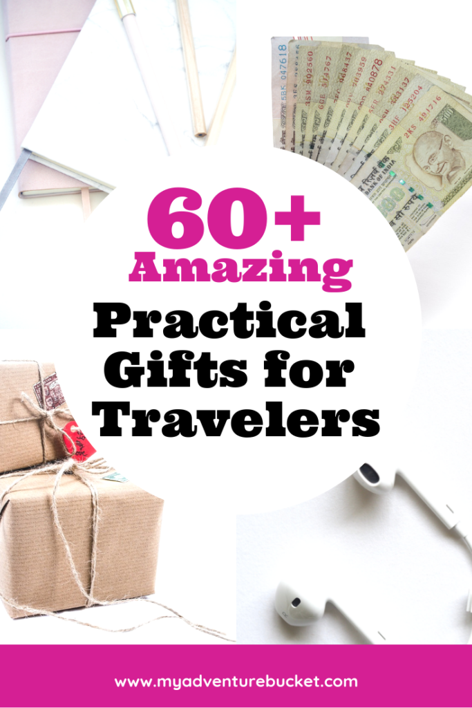 Tired of giving cute but not very useful travel gifts? Check out this list of 60+ super amazing practical gifts for travelers (that they actually want!)